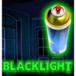 Vopsea fluorescentă invizibilă - spray