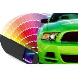Vopsea auto dublustrat pe bază de solvent care necesită lăcuire – culoare constructor