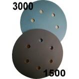 Dischete de șlefuit velcro cu granulații de 1500 sau 3000