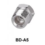 """Racord adaptor pentru filet de la 1/4"""" la 1/8"""""""