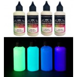 Seria Glow – 4 vopsele fosforescente acrilice-poliuretanice pentru aerograf