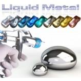 Vopselele Metal Lichid - efect metal lustruit