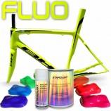 Kit complet de vopsea fluorescentă pentru biciclete