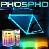 Set complet de vopsea fosforescentă pentru bicicletă