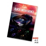 Poster Black interference