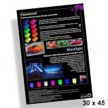 Poster 30x45cm Peintures fluorescentes