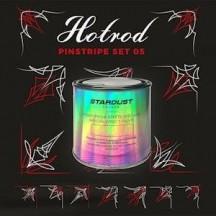 Vopsea și pensule pentru pinstriping
