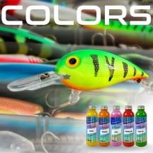 culori și nuanțe pentru momeli.